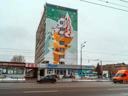 Роспись и оформление стен, граффити, муралы по Киеву и Украи