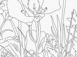 "Роспись на холсте. Art Craft ""Ирис"" 25х30 см (15523-AC)"
