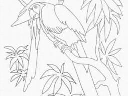 """Роспись на холсте. Art Craft """"Попугаи"""" 25х30 см (15507-AC)"""