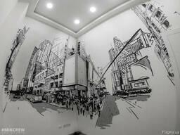 Художественная роспись стен, граффити на заказ в Ялте