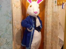 Ростовая кукла кролик, пошив на заках