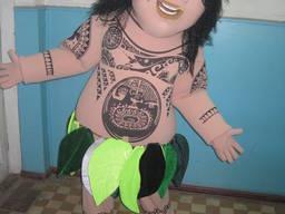 Ростовая кукла Мауи, пошив ростовых куостюмов