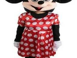 Ростовая кукла Минни Маус в красном платье