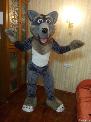 Ростовая кукла волк, изготовление ростовіх кукол