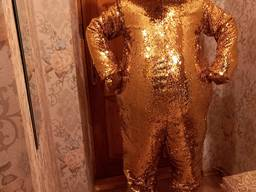 Ростовая лялька золотий ведмедик