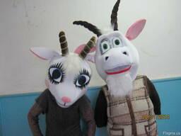 Ростовые куклы коза и козел
