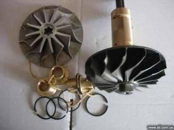 Ротор С-509265-04 С718496-06 ТКР14С741117 кольцо С – 509199.