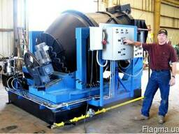 Роторная наклонная печь РНП-5