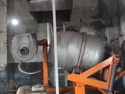 Роторная печь для алюминия 400 кг