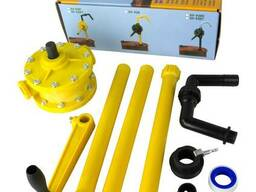 Роторные бочковые насосы для моющих средств, воды, восков, с