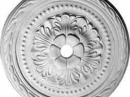 Розетка потолочная. Гипсовый декор d-145