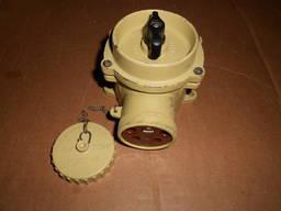 Судовая розетка штепсельная с выключателем РШВ2-41