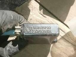 Розетки УХЛ4-21Р20 с проводом , 250в. 50Гц. 12а. -5шт.