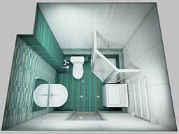 Розширення Туалет/ Ванна Суміжний Приміщення