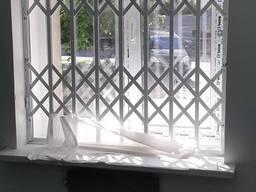 Розсувні грати з металу будь-якого розміру на вікна, двері Виробництво Суми