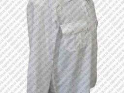 Рубашка форменная белая, кремовая, голубая офицерская, длинн