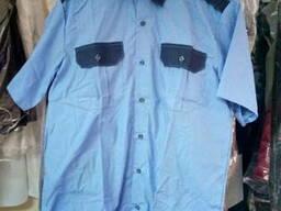 Рубашка для охранников с коротким рукавом