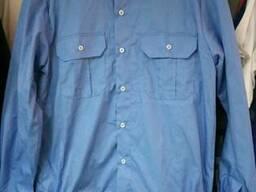 Рубашка форменная с длинным рукавом на резинке