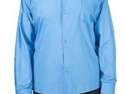 Рубашка Классика синяя для охраны