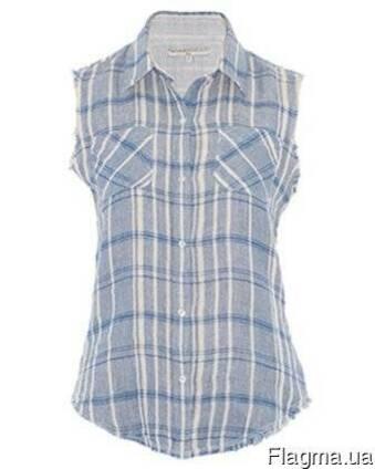 Рубашка мужская или женская с рукавом, без рукав, с коротким