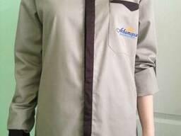Рубашки для официантов с длинным рукавом, пошив под заказ