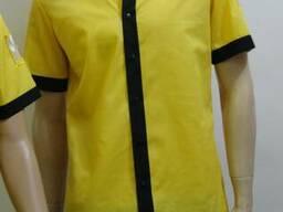 Рубашки, корпоративные, для официантов, для офиса