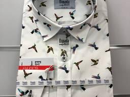 Рубашки мужские Koszule Męskie (cyfrowy nadruk 100% bawełna)
