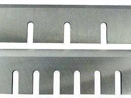 Рубильные ножи - изготовление под заказ по образцу, чертежу