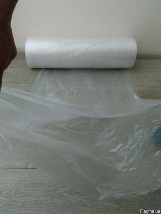 Рукав для упаковки одежды после химчистки