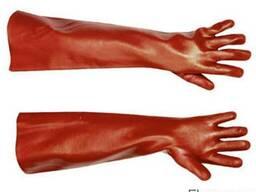 Рукавички Redstar 45см Бавовняні рукавички з повним покриття