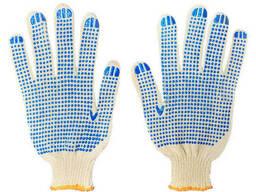Рукавицы и перчатки рабочие резиновые кожаные вязанные