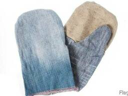 Рукавицы комбинированные брезент джинс