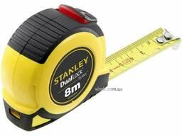 """Рулетка Stanley """"Tylon DUAL LOCK"""" 8 м х 25 мм"""