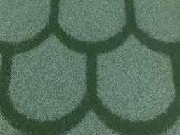 Рулонная черепица Технониколь, 8х1 м, Бобровый хвост, зелена