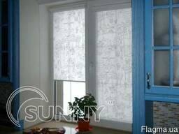 Рулонные шторы - Тканевые роллеты