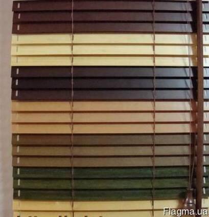 Алюминиевые жалюзи на окна. Тканевые, деревянные жалюзи. Выбор
