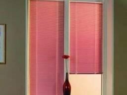 Рулонные шторы. вертикальные и горизонтальные жалюзи. тканевы