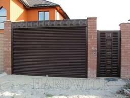 Рулонные стальные ворота(въездные,гаражные)Hardwick