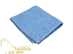 Рушник лицьовий 50х100, 420 гр / м2, світло-блакитне 1178
