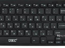 Русская беспроводная мини клавиатура + мышка Apple 901. ..