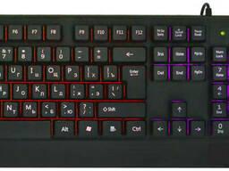 Русская проводная клавиатура + мышка UKC с подсветкой (4958)
