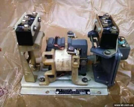 РВП-72М 3221 00УХЛ4 ~660V-440V 16А катушка 110В 50Гц