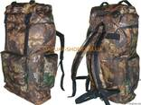 Рюкзак 60л камуфляж, камыш, дубок - фото 2
