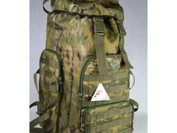 Рюкзак армейский, военный камуфляж мультикам и цифра ВСУ