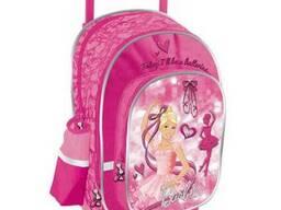 Рюкзак детский на колесиках Barbie.