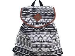 Рюкзак с принтом aztec patterns черный rtPltr17198