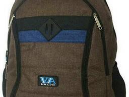 Рюкзак школьный VA R-77-97, коричневый