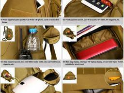 Рюкзак тактический Eagle M08B (штурмовой, военный) мужская сумка Оливковый