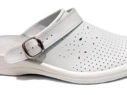 Сабо медицинские женские кожаные сабо медицинская обувь
