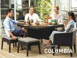Садовая мебель Columbia Dining Set 9 Pcs Allibert, Keter - фото 3